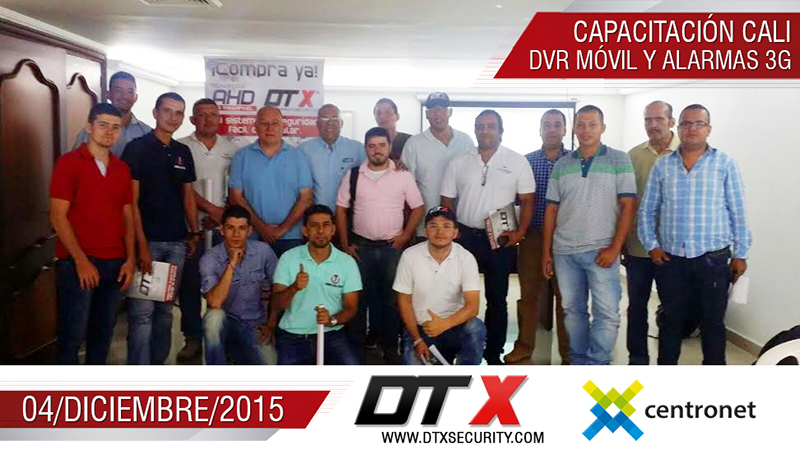 Cursos CCTV DTX Securiity