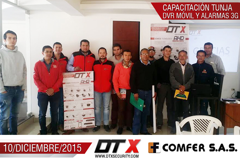 DVR Movil y alarmas 3G DTX 2015 Comfer