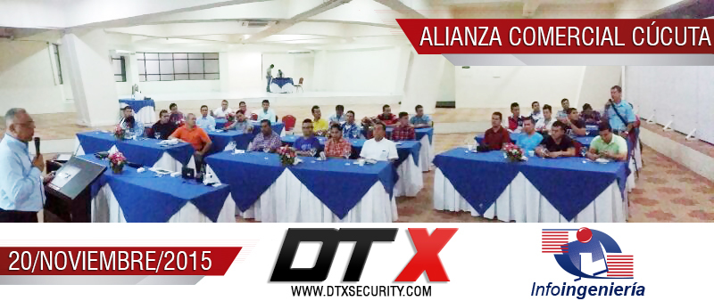 DVR Movil y alarmas 3G DTX 2015 Infoingenieria
