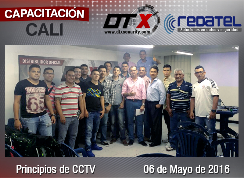 Cursos CCTV Cali Redatel - DTX Security