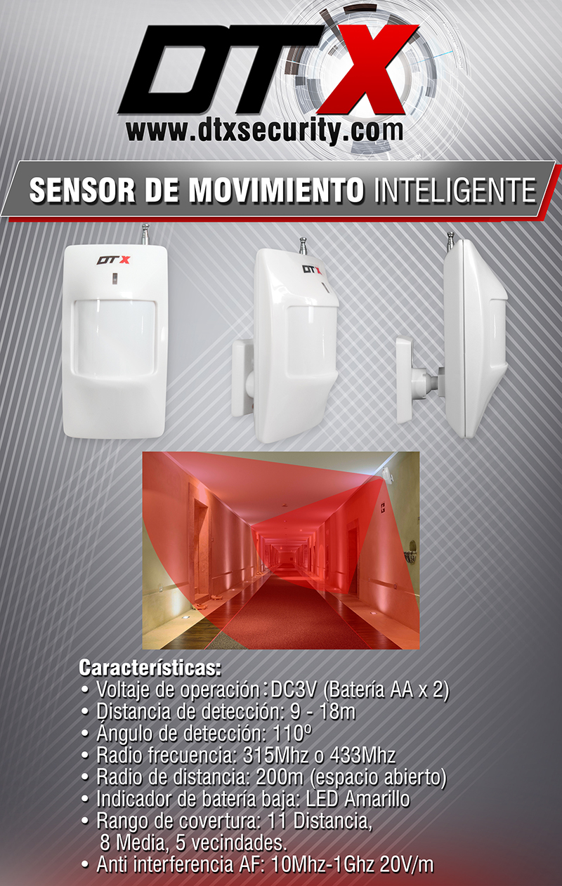 Sensor inteligente de movimiento